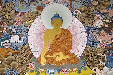 Monastère de Kopan, vallée de Kathmandu