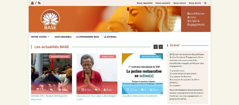 BASE : Bouddhisme, Action Sociale etEngagement